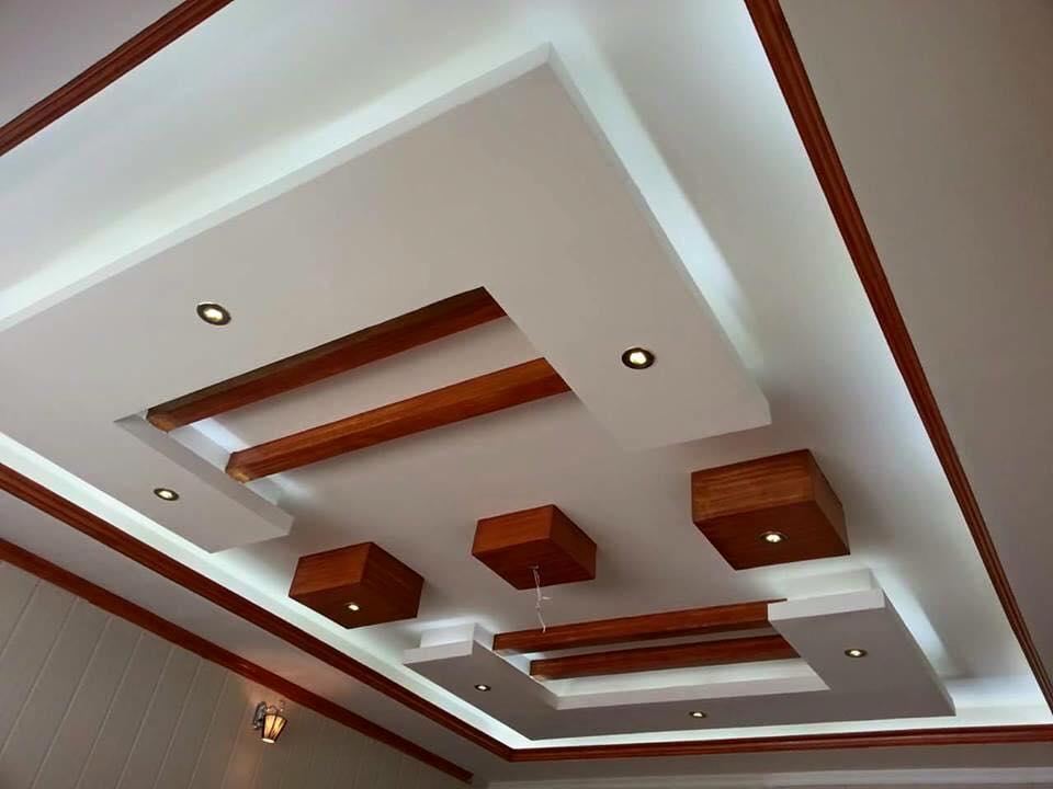 2 | Mẫu trần thạch cao phòng khách đẹp 2018
