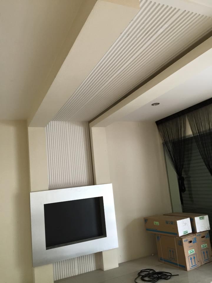 4 | Mẫu trần thạch cao phòng ngủ được hoàn thiện cuối năm 2017