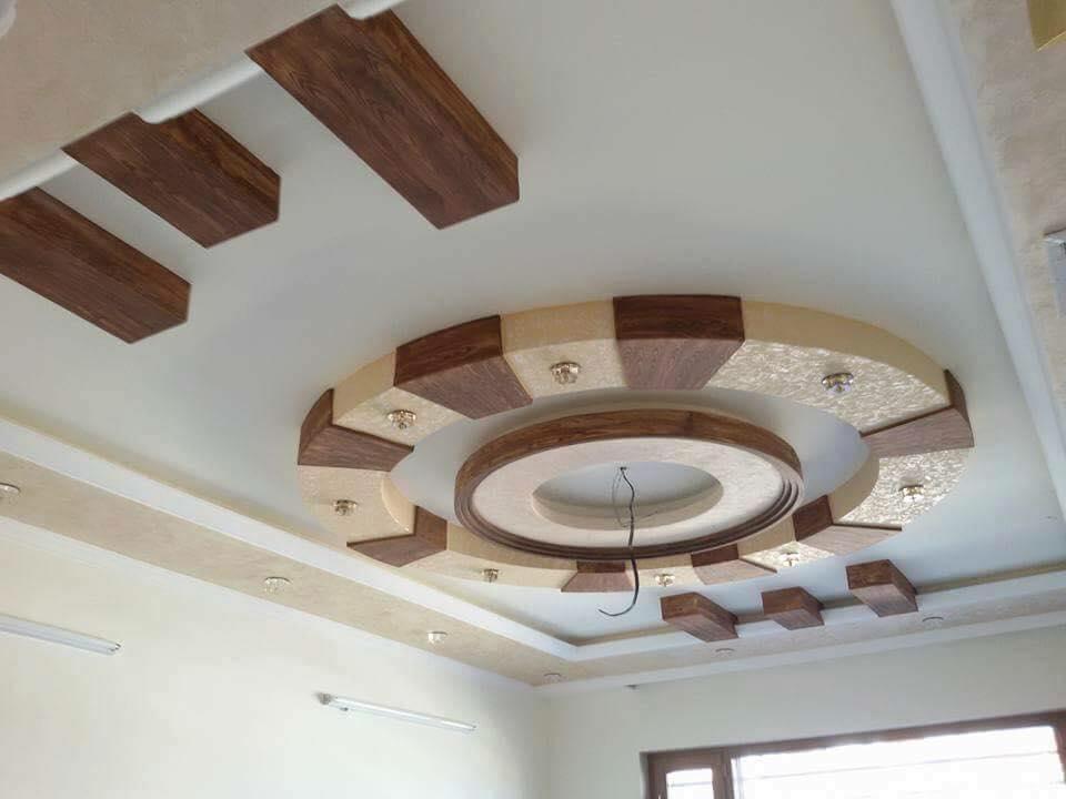 6 | Công trình trần thạch cao phòng khách tại Hà Nội