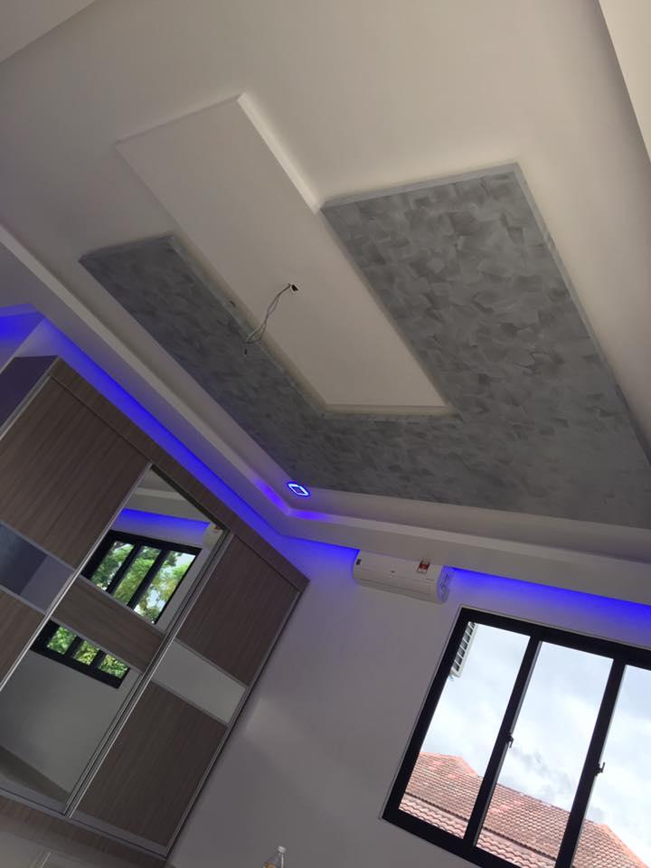 7 | Công trình trần thạch cao phòng khách tại Hải Phòng