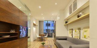 Phương án thiết kế nội thất chung cư 70m2 cho gia đình 6 người