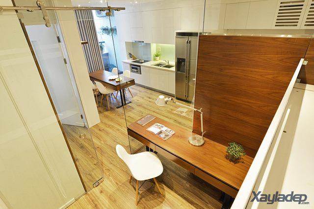 Phương án thiết kế nội thất chung cư 70m2 cho gia đình 6 người. Phòng ngủ