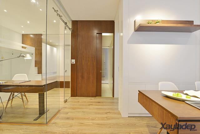 Phương án thiết kế nội thất chung cư 70m2 cho gia đình 6 người. khu vệ sinh