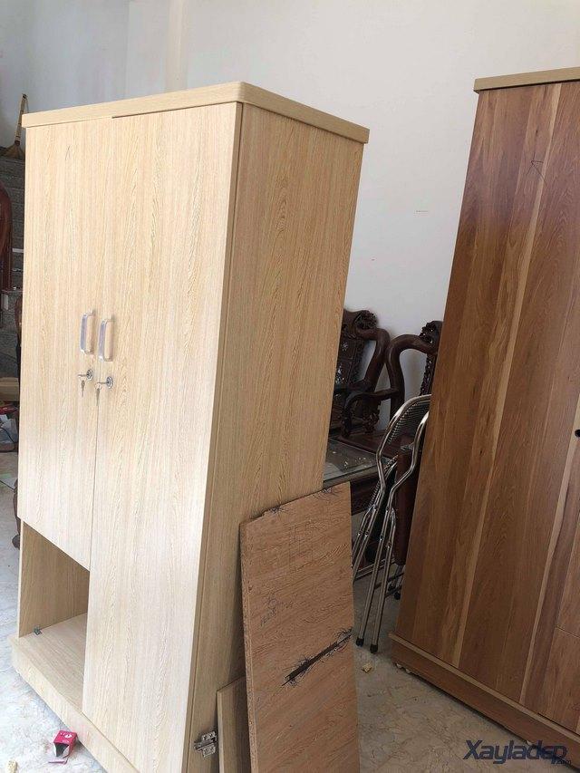 Tủ quần áo gỗ công nghiệp 0.9 m giá 1.000.000 Đ