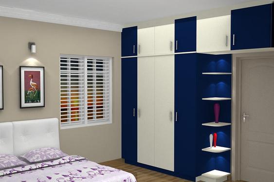 9 | Thiết kế hiện đại với màu xanh dương