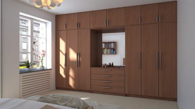 , 18 Mẫu tủ quần áo hiện đại thích hợp cho mọi gia đình, Nhà đẹp