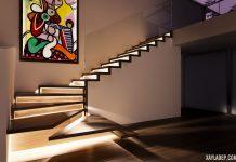 50 Mẫu cầu thang đẹp cho nhà ống bằng gỗ, kính, sắt nghệ thuật
