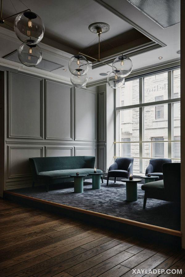 trần thạch cao cổ điển phòng khách 2021