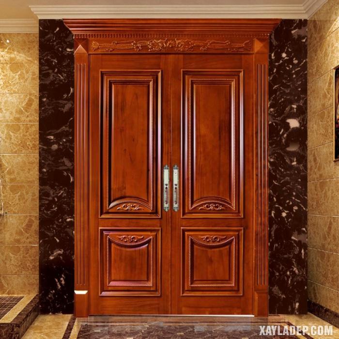 Mẫu cửa chính 2 cánh
