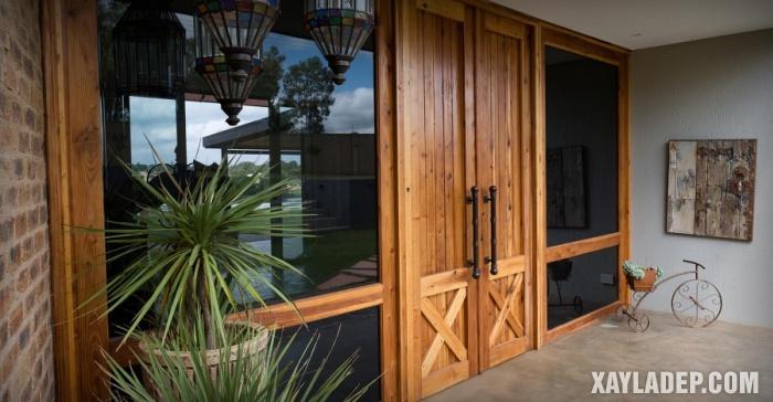 94 Mẫu cửa gỗ đẹp nhất 2021 cho cửa chính và cửa thông phòng mau cua chinh dep 12