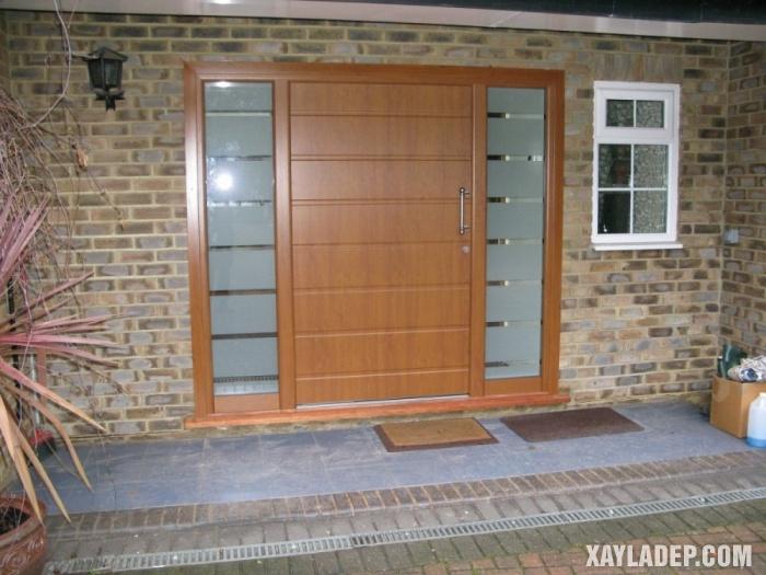 94 Mẫu cửa gỗ đẹp nhất 2021 cho cửa chính và cửa thông phòng mau cua chinh dep 3