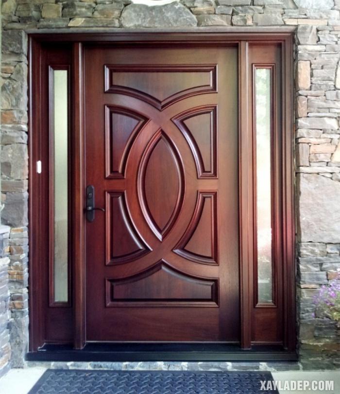 94 Mẫu cửa gỗ đẹp nhất 2021 cho cửa chính và cửa thông phòng mau cua chinh dep 5