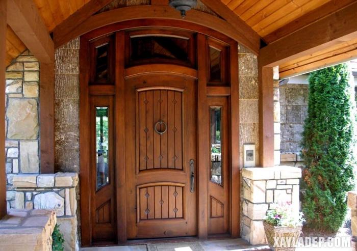 94 Mẫu cửa gỗ đẹp nhất 2021 cho cửa chính và cửa thông phòng mau cua chinh dep 8