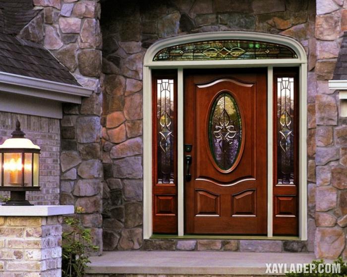 94 Mẫu cửa gỗ đẹp nhất 2021 cho cửa chính và cửa thông phòng mau cua chinh dep 9