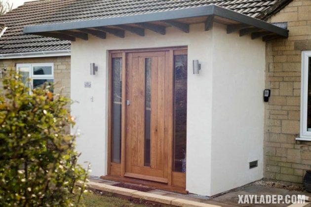 94 Mẫu cửa gỗ đẹp nhất 2021 cho cửa chính và cửa thông phòng mau cua go dep 1