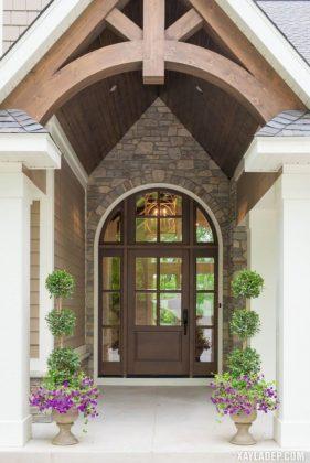 94 Mẫu cửa gỗ đẹp nhất 2021 cho cửa chính và cửa thông phòng mau cua go dep 13
