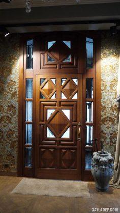 94 Mẫu cửa gỗ đẹp nhất 2021 cho cửa chính và cửa thông phòng mau cua go dep 14