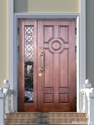 94 Mẫu cửa gỗ đẹp nhất 2021 cho cửa chính và cửa thông phòng mau cua go dep 2