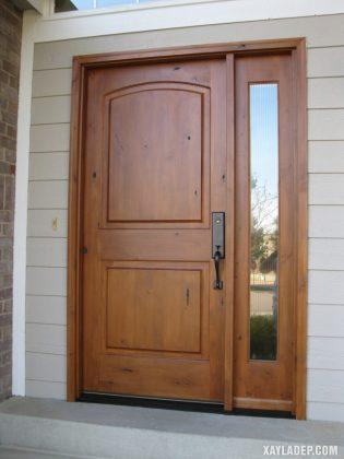 94 Mẫu cửa gỗ đẹp nhất 2021 cho cửa chính và cửa thông phòng mau cua go dep 20