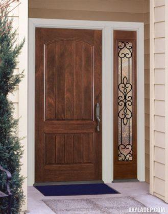 94 Mẫu cửa gỗ đẹp nhất 2021 cho cửa chính và cửa thông phòng mau cua go dep 25