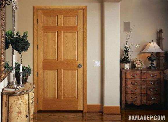 94 Mẫu cửa gỗ đẹp nhất 2021 cho cửa chính và cửa thông phòng mau cua go dep 27