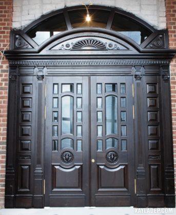 94 Mẫu cửa gỗ đẹp nhất 2021 cho cửa chính và cửa thông phòng mau cua go dep 31