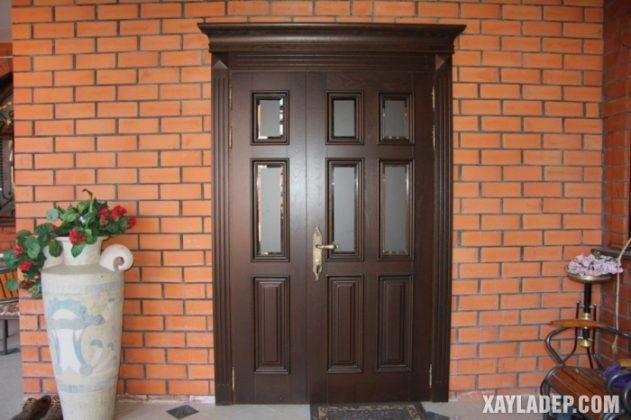 94 Mẫu cửa gỗ đẹp nhất 2021 cho cửa chính và cửa thông phòng mau cua go dep 33