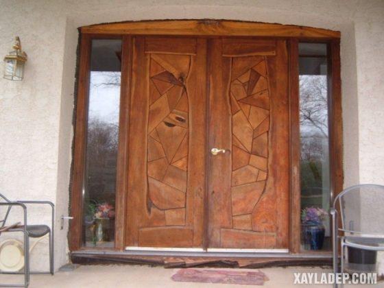 94 Mẫu cửa gỗ đẹp nhất 2021 cho cửa chính và cửa thông phòng mau cua go dep 34