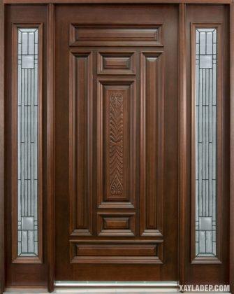 94 Mẫu cửa gỗ đẹp nhất 2021 cho cửa chính và cửa thông phòng mau cua go dep 35