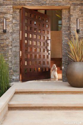 94 Mẫu cửa gỗ đẹp nhất 2021 cho cửa chính và cửa thông phòng mau cua go dep 37