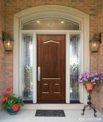 94 Mẫu cửa gỗ đẹp nhất 2021 cho cửa chính và cửa thông phòng mau cua go dep 38