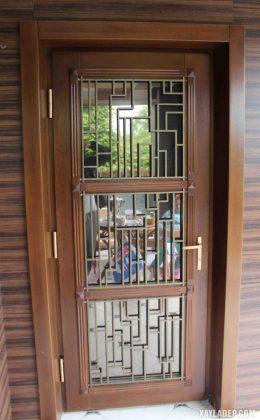94 Mẫu cửa gỗ đẹp nhất 2021 cho cửa chính và cửa thông phòng mau cua go dep 44