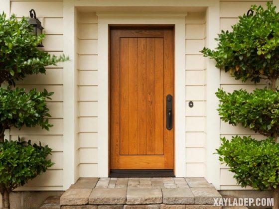 94 Mẫu cửa gỗ đẹp nhất 2021 cho cửa chính và cửa thông phòng mau cua go dep 6