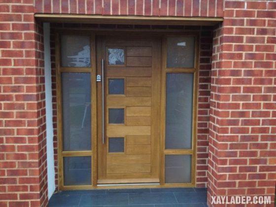 94 Mẫu cửa gỗ đẹp nhất 2021 cho cửa chính và cửa thông phòng mau cua go dep 7