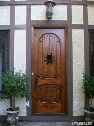 94 Mẫu cửa gỗ đẹp nhất 2021 cho cửa chính và cửa thông phòng mau cua go dep 9