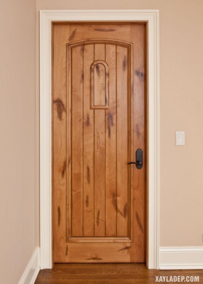 94 Mẫu cửa gỗ đẹp nhất 2021 cho cửa chính và cửa thông phòng mau cua thong phong dep 10