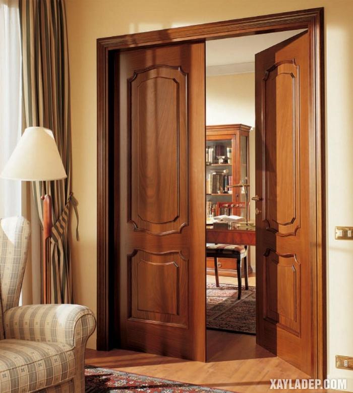 cửa gỗ đẹp, 94 Mẫu cửa gỗ đẹp nhất 2019 cho cửa chính và cửa thông phòng, Nhà đẹp