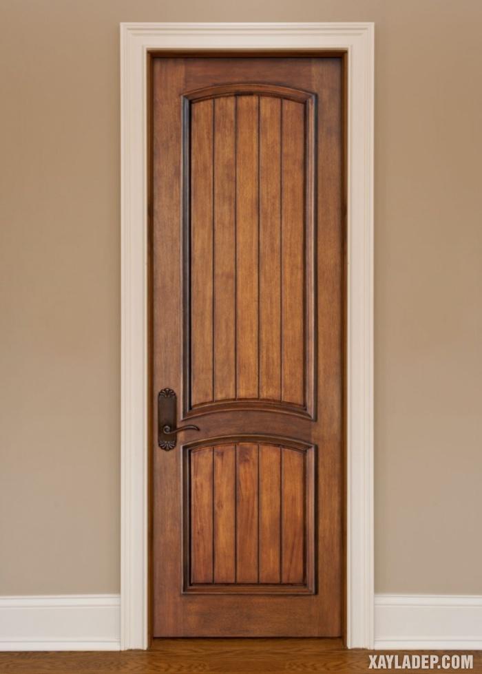 94 Mẫu cửa gỗ đẹp nhất 2021 cho cửa chính và cửa thông phòng mau cua thong phong dep 7