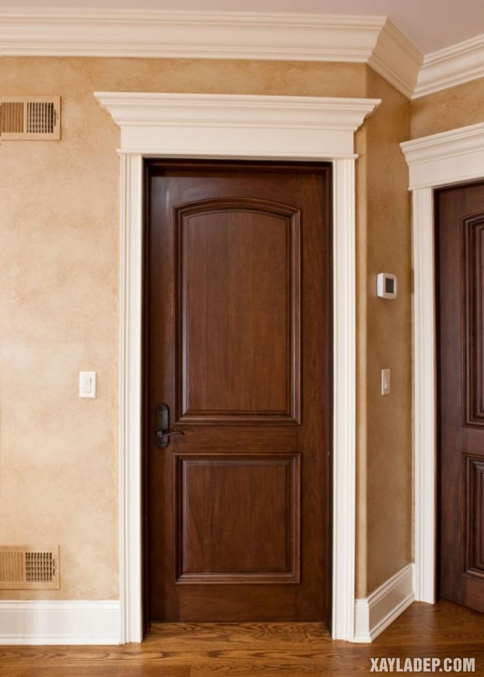 94 Mẫu cửa gỗ đẹp nhất 2021 cho cửa chính và cửa thông phòng mau cua thong phong dep 8