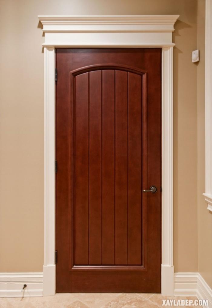 94 Mẫu cửa gỗ đẹp nhất 2021 cho cửa chính và cửa thông phòng mau cua thong phong dep 9
