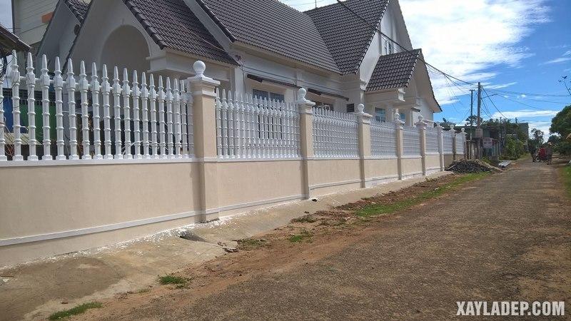 27 Mẫu hàng rào bê tông đẹp và an toàn cho các căn hộ. Ảnh 02
