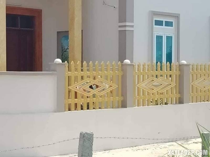 27 Mẫu hàng rào bê tông đẹp và an toàn cho các căn hộ. Ảnh 03