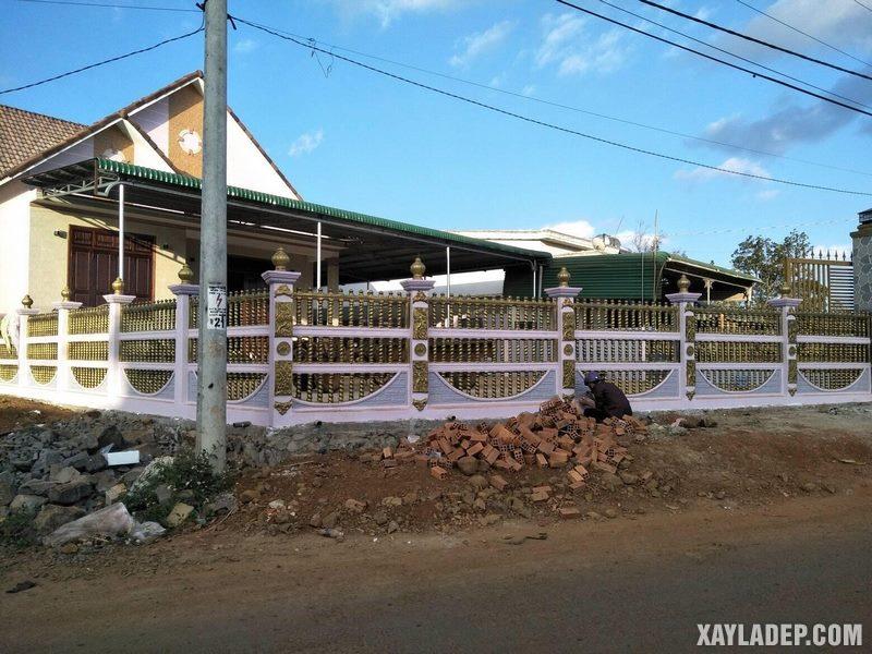 27 Mẫu hàng rào bê tông đẹp và an toàn cho các căn hộ. Ảnh 04