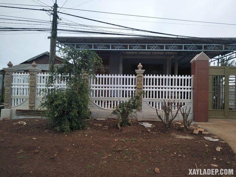 27 Mẫu hàng rào bê tông đẹp và an toàn cho các căn hộ. Ảnh 05