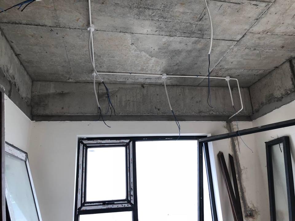 Thi công trần thạch cao tại An Bình City nhà anh Tuấn. Ảnh 14