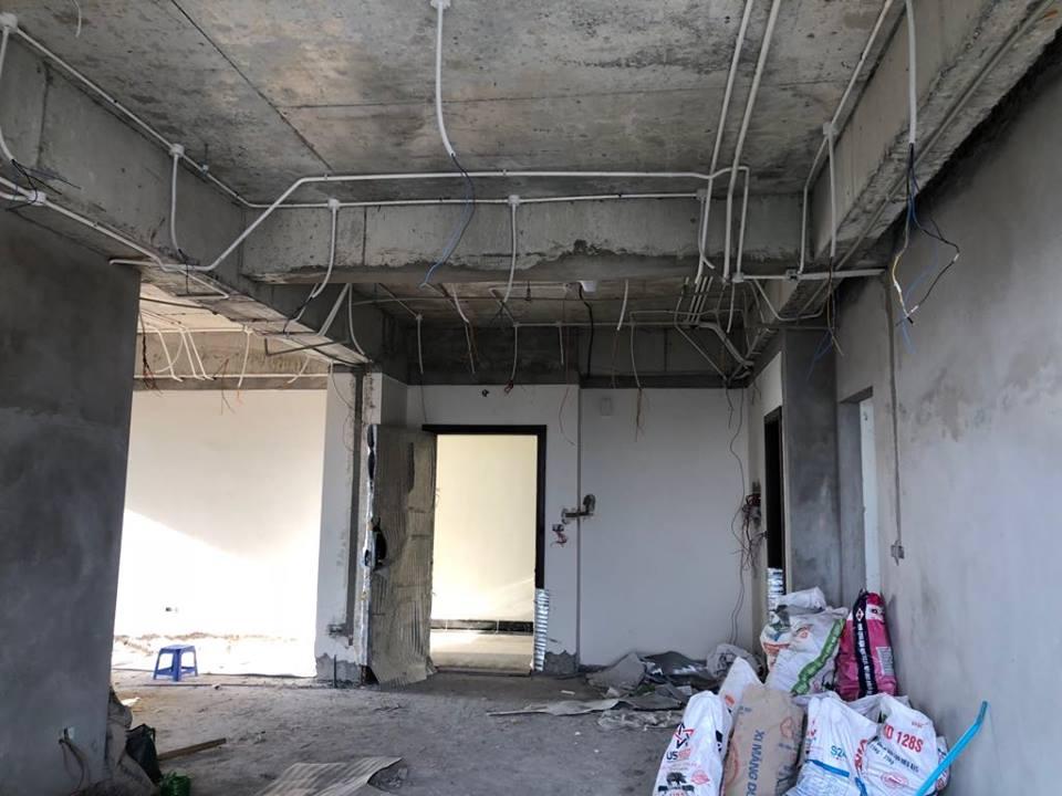 Thi công trần thạch cao tại An Bình City nhà anh Tuấn. Ảnh 12