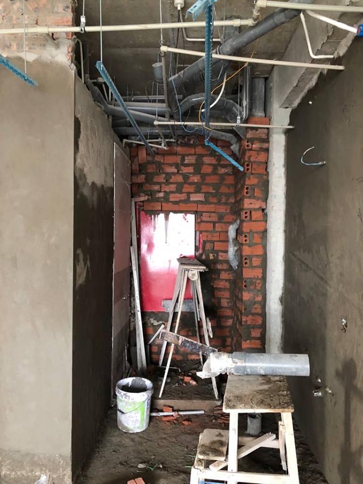 Thi công trần thạch cao tại An Bình City nhà anh Tuấn. Ảnh 5