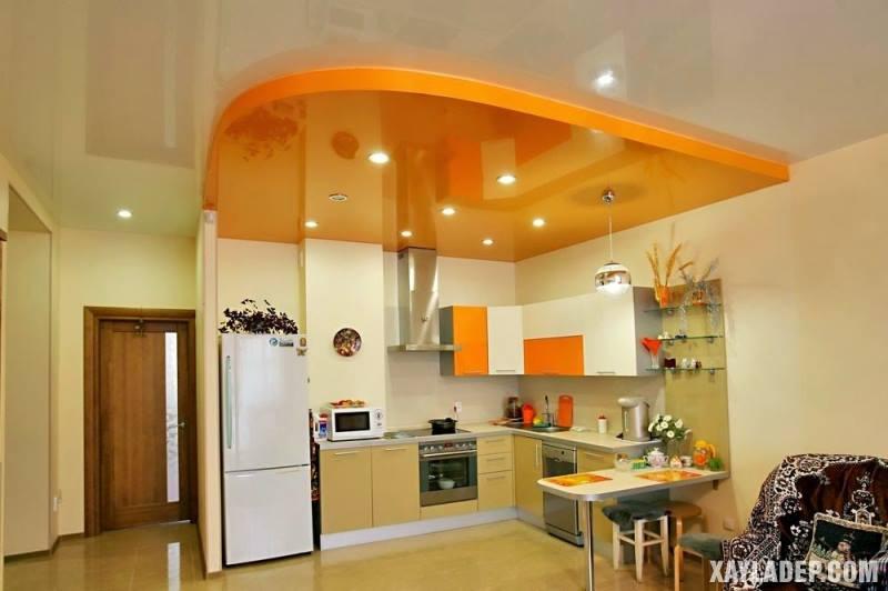 Các mẫu trần thạch cao phòng bếp đẹp nhất, mới nhất 2018. Ảnh 17
