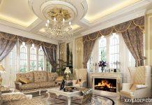 Tuyển chọn các mẫu trần thạch cao phòng khách đẹp 2018