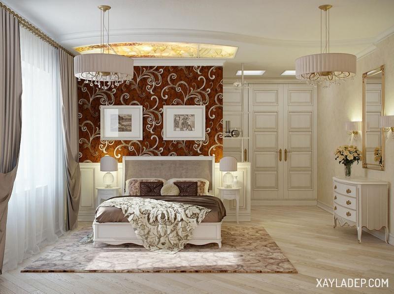 15 mẫu trần thạch cao phòng ngủ vợ chồng giúp cảm xúc thăng hoa. Ảnh 2
